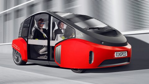 Rinspeed Oasis – The Auto of the Future