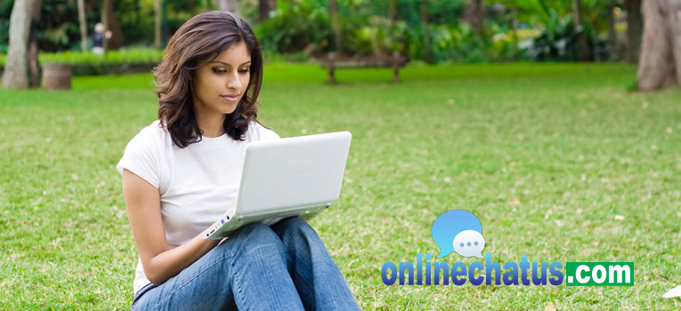 Online chat girl